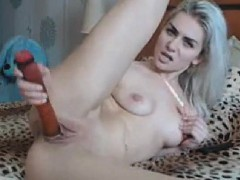 amateur webcam babe poking pussy with a dildo – فيلم سكس بنت في سن المراهقة تتناك فى كسها الساخن