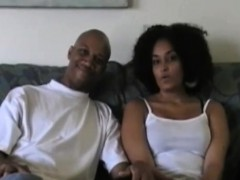 sexy amateur black couple humping