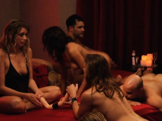 Group of nasty swingers swap partners and enjoyed groupsex