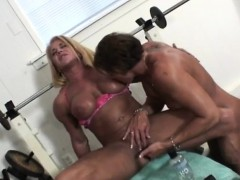 buff-woman-satisfies-her-gym-partner