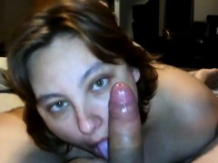 busty-brunette-pleasing-her-lover-orally