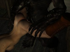3d-brunette-licked-and-fucked-by-a-werewolf