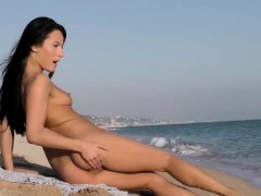 Flawless Czech Bombshell Lexi Dona Masturbates And Gets Off