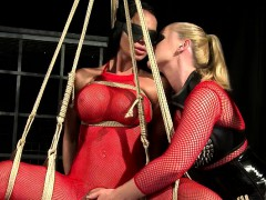 lesbian-mistress-and-her-slaves