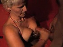 allyn from onmilfcom — mature german lady in sexshop