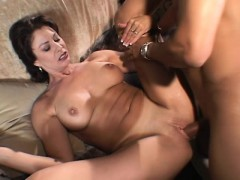 big tit wife gets her pussy and butt drilled with her husband there