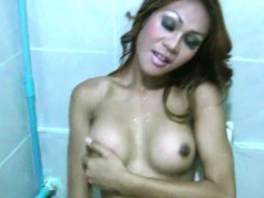redhead-ladyboy-exposes-her-bigtits-and-gives-handjob-in-pov