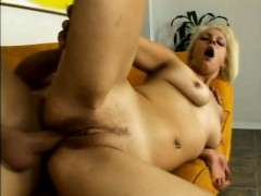 Luscious Blonde Works Her Hungry Anal Hole On Every Hard Inch Of Cock