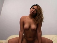 Horny Chick Dimond Jewelz Fills All Her Slots With Big Chisels
