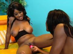 two-hot-ebony-lesbians-enjoy-sex-toys-in-their-pussies