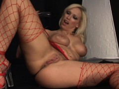 busty-blonde-cougar-in-heat-rides-the-sybian-and-drills-her-fiery-ass