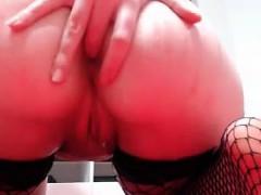 Nerd Girl Masturbation