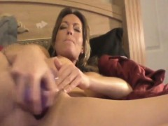 nadia from 1fuckdatecom – milf masturbation plays with purpl – Porn Video