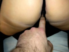 Whore wife in stockings and crotch Miki from 1fuckdatecom