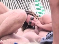 Kecia from 1fuckdatecom - Mature beach headhunters