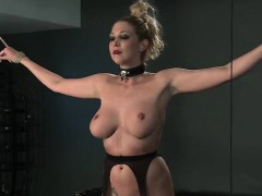 Bdsm Xxx Master Gives Blonde Beauty A Hardcore Lesson In Res