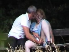 Inexperienced Bang-out On Park Bench Senaida From 1fuckdatecom