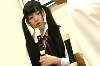 弁髪習慣のかわいいアジア18歳 彼女Te-3038676-を持つフルート -ポルノ屋