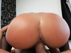 Big Round Ass Teen Abella Danger Cuffed And Fucked