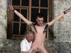 male-bondage-and-castration-gay-with-his-tender-nutsack-tugg