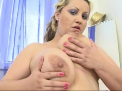 Massive Breasted Wife Playing With Thelma