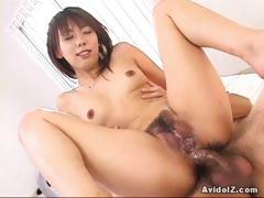 Maho Sawai Rides Cocks Like A Wild Woman!