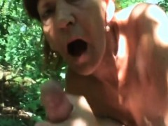 hot mature devours heavy dick in sweet outdoor porn scenes