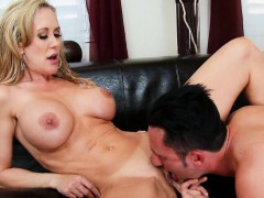 A Lesson From Sexy Big Tits Blonde Brandi Love