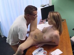 doctor fucks sexy babe after examination