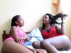 sexy ebony african lesbians dildo vagina toys