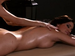 two-sexy-women-licking-each-pussies-on-massage-table