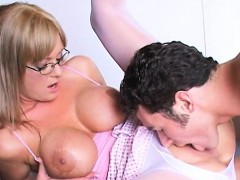 massive tits blonde milf teacher banged allison kilgore