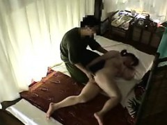 beautiful and lustful asian babe has a masseur plowing her