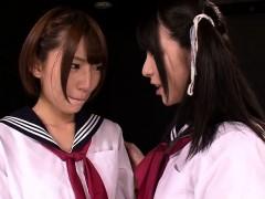 lesbian schoolgirls lick and finger vagina