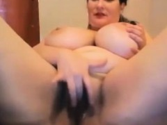 hot-busty-babe-bbw-fingering-pussy-on-webcam