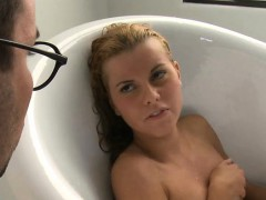 Small Darling Acquires Wicked Hammering For Her Taut Twat