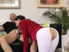 british milf cockriding before backdoor creampie