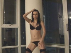 Amazing Teen Dances And Strips On Camera
