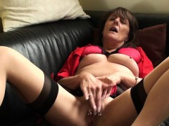 mature-sub-rubs-her-wet-pierced-box
