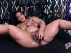 submissive-oiled-bitch-with-huge-ass-and-creamy-vagina