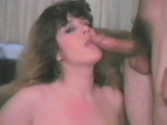 a big girl hits and trips a dick in a vintage movie