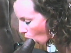 delicious brunette will adore a heavy cock that is black