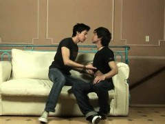 Horny Twink Lads Enjoy Heated Kisses And Caresses