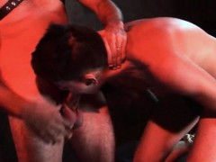 Tied In A Nice Bundle Twink Sub Gets Used Orally