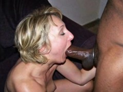 Blonde Wife Loves Black Cock