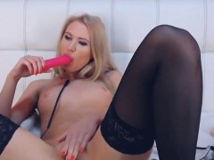 cute-russian-blonde-pleasures-her-hole