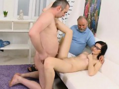 Stud Assists With Hymen Physical And Nailing Of Virgin Teeni