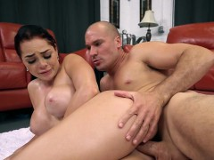 busty babe skyla novea gets impaled and jizzed on