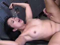 Raunchy Asian Hooker Has Her Slit Pummeled