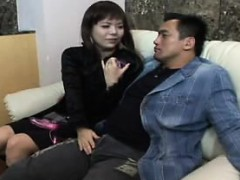 Petite Japanese Cutie In Pantyhose Gets Her Peach Fingered